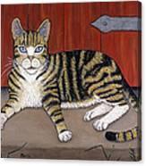 Rascal The Cat Canvas Print