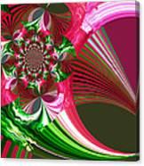 Raspberry Garden Canvas Print