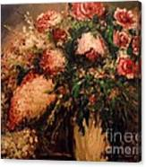 Raspberry Jammies Canvas Print
