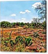 Rattle Rock Road Canvas Print
