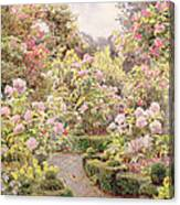 Raundscliffe - Everywhere Are Roses Canvas Print