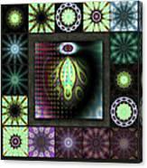 Ravaged Visions Redux Canvas Print