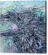 Raven - Oil Portrait Canvas Print