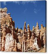 Raven Over Bryce Canyon Canvas Print
