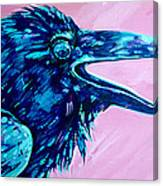 Raven Song Canvas Print