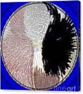 Raven-wold Mandala Yantra Canvas Print