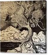 Ravenlight Tree Canvas Print