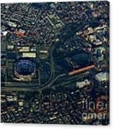 Ravens Stadium And Camden Yards Canvas Print