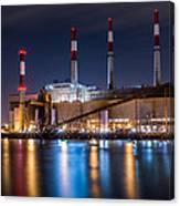Ravenswood Generating Station Canvas Print