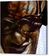 Ray Charles-beyond Sight 2 Canvas Print
