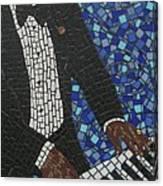 Keyboard Blues Canvas Print