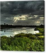 Lake Worth Sunlight Canvas Print