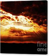 God's Hope In Skyscape Canvas Print