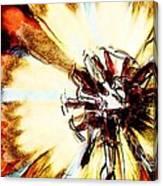 Rays Of Joy - S03-10 Canvas Print