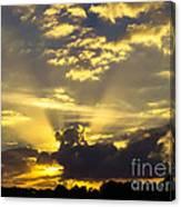 Rays Of Sunlight Canvas Print