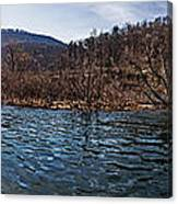 The Dam At Raystown Lake Canvas Print