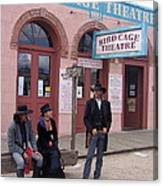 Re-enactors Bird Cage Theater Rendezvous Of The Gunfighters Tombstone Arizona 2004            Canvas Print