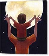 Reach The Moon Canvas Print
