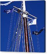 Reaching Out To The Deep Blue Sky Canvas Print