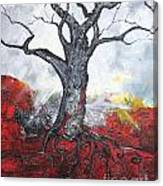 Read My Bark Canvas Print