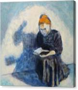 Reading #1 Canvas Print