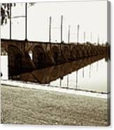 Cumberland Valley Railroad Bridge Canvas Print