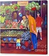 Reading Terminal Market Flowers Canvas Print