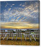 Ready For The Morning Canvas Print