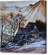 Ready For Winter Canvas Print