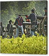Ready On The Firing Line Canvas Print