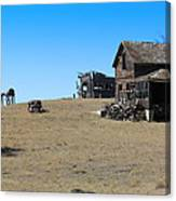 Real Estate On The Open Plain Canvas Print