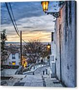 Realejo View During Sunset - Granada Canvas Print