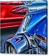Rear Tail Lights Canvas Print