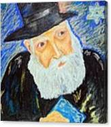 Rebbe's World  Canvas Print