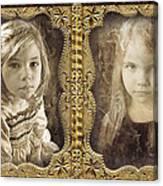 Rebecca And Sara Canvas Print