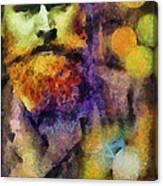 Rebel In A Frock Coat  Canvas Print