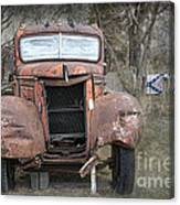 Rebel Truck Canvas Print