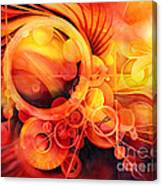 Rebirth - Phoenix Canvas Print