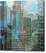 Rebuilding Landscapes 2 Canvas Print