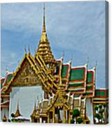 Reception Hall At Grand Palace Of Thailand In Bangkok Canvas Print