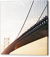 Recesky - Benjamin Franklin Bridge 3 Canvas Print
