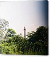 Recesky - Cape May Point Lighthouse 2 Canvas Print