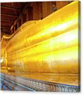 Reclining Buddha, Wat Pho Canvas Print