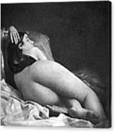 Reclining Nude, C1850 Canvas Print