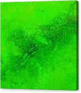 Reclusive Emerald Green Canvas Print