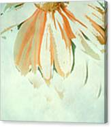 Reconstructed Flower No.1 Canvas Print