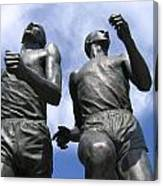 Record Breaking Statues Canvas Print
