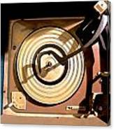 Vinyl Turner Canvas Print