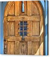 Rectory Door Canvas Print