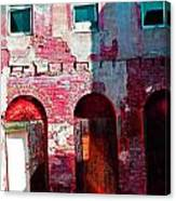 Red Abandonment Canvas Print